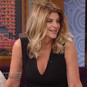 Kirstie Alley on wendy williams