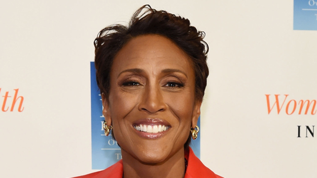 Robin Roberts and Jenn Falik