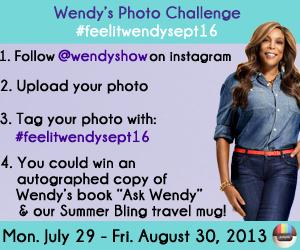 Wendy's Photo Challenge