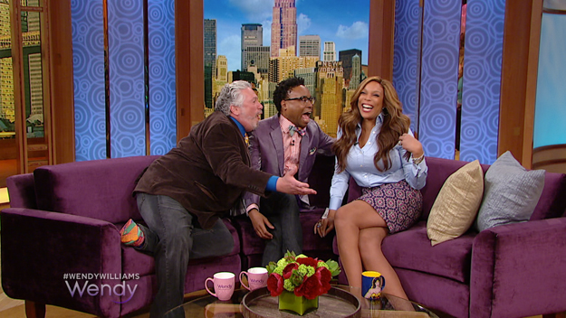Harvey Fierstein and Billy Porter Give Wendy Some Broadway Advice!