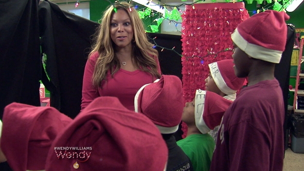 Wendy Spreads Holiday Cheer at the P.A.L.