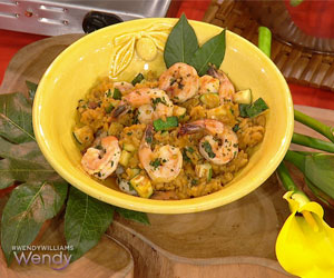 Shrimp and Zucchini Risotto | The Wendy Williams Show